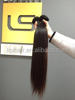 Full Cuticles Silky Straight Alibaba Hair Extension <strong>Human</strong> 9A Indian Hair
