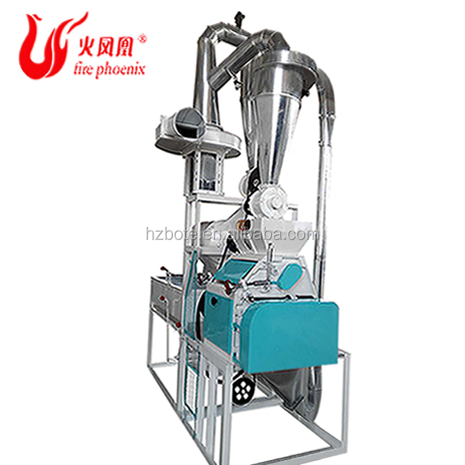 China Factory Price Mini Grain Flour Machine Feed Nut Oil Plant Malt For Beer Power Milling Grinding Machine