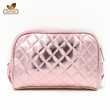 Best selling custom toiletry organizer bag and pouch women leather make up bags