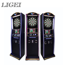 Low price good quality different style coin operated dart board electronic arcade dart game machine
