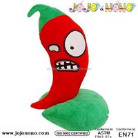 ICTI and Sedex audit new design EN71 plant vs zombies stuffed plush toys