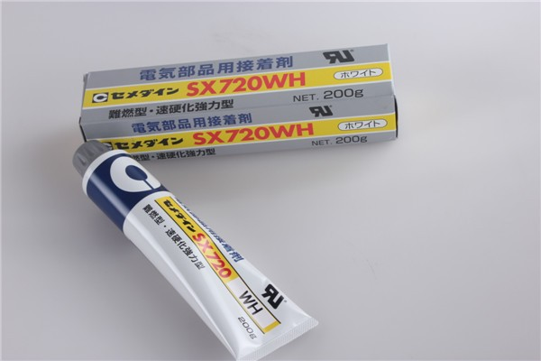 Adhesive for electrical components SX720 (W, WH, B, and BH)