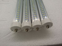 2015 8ft Fa8 Single Pin /one Pin Led Tube Light replace T12 Led Fluorescent Tube 44W 277V USA Canada Mexico double row
