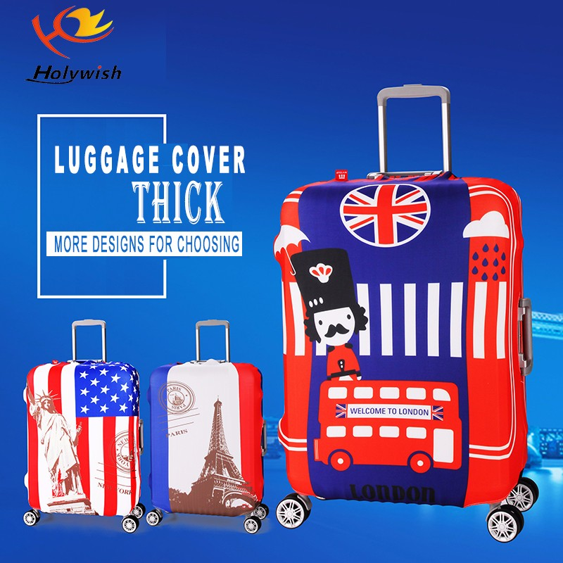 Hot Sale Protective Polyester Suitcase Cover For Travelling