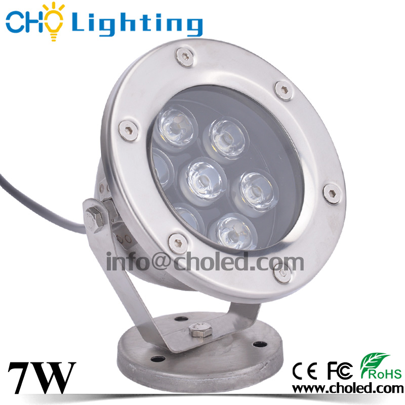 Cheap Price 12V 7W LED Underwater Fountain Lamp IP68 3 Years Warranty