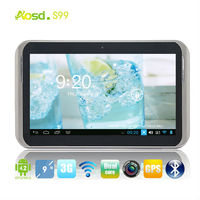 "Cheap android tablet pc motherboard mtk6572 tablet dual core 9"" dual camera phone S99"