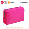 China Wholesale PVC Cosmetics Box Plain Travel Makeup Bags Organizer Bag Pink Toiletry Bag With Compartments