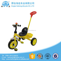 China good quality green cargo plastic children tricycle with cheap price