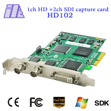 on sale with HD Dual SDI PCI-e HDMI Video Capture Card HD102