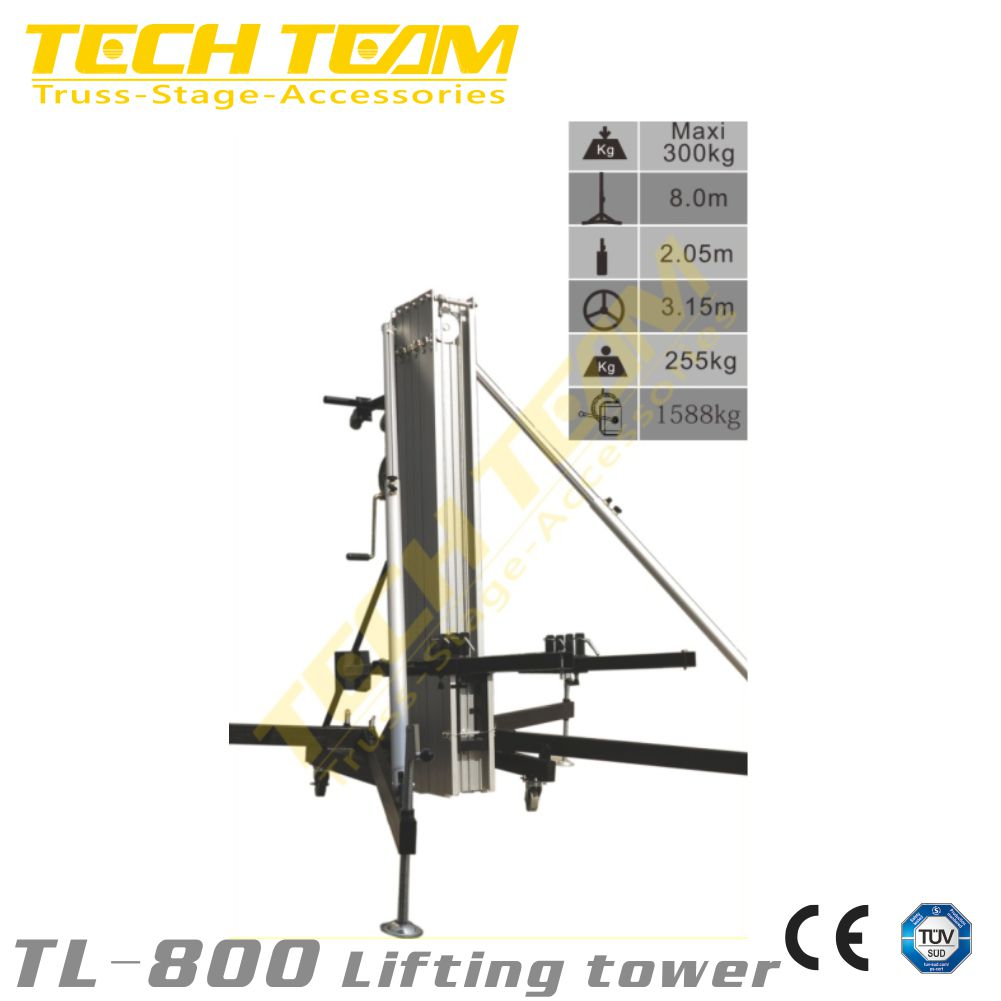 lifting tower for sound , speaker tower