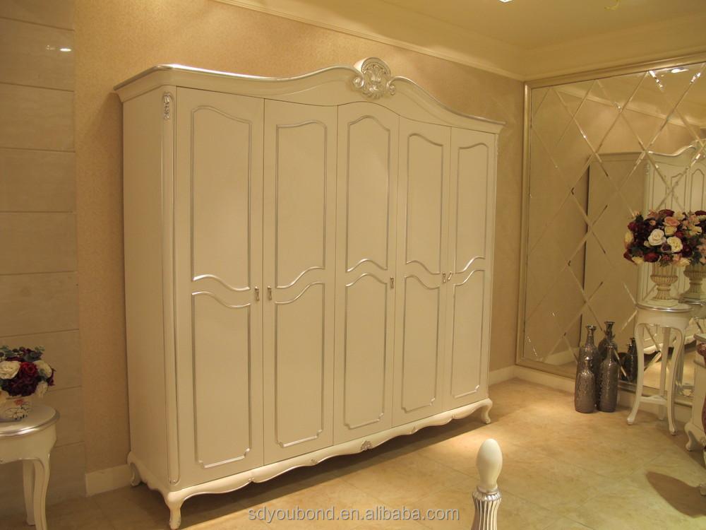 Romantische whtie yb09 franse stijl slaapkamer set meubilair voor meisje ontwerp met de hand - Meisjes slaapkamer stijl ...