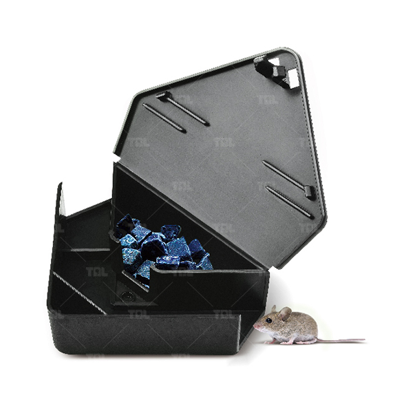 Black Multi-Catch Mouse Trap Mice Control Cage (TLMBS0204)