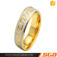 2016 Best selling 18k solid gold jewelry rings wholesale price
