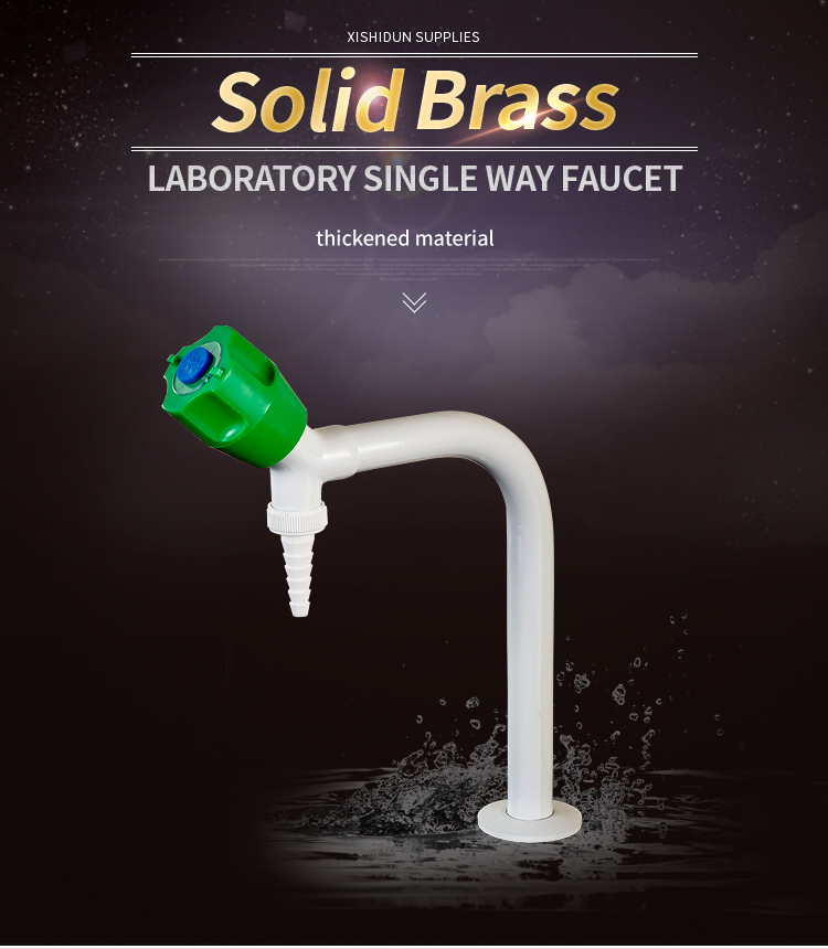 1107 School Chemical Laboratory Brass Water Tap Furniture Fitting