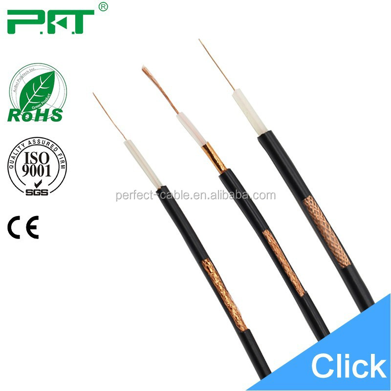 High Cost and Speed Performance OEM Colored Coaxial RG6 RG59 RG58 Cable