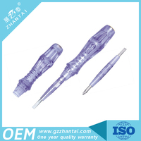 Dual Ways Use AS Screwdriver Tester and CRV Steel Tool Rod Electrical Voltage Test Pen