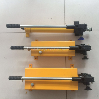 Single direction and two-way manual hydraulic pump ultra high pressure oil pump