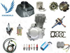 India Bajaj CT100 CG125 CD100 FZ16 CD70 Motorcycle Spare Parts from China