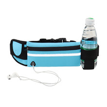 Men's and Women's Jogging Hiking Fitness Running Durable Sport Waist Bag to hold Mobile <strong>Phone</strong> and Kettle