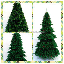 Red PVC Xmas tree 180cm/6ft 6ft' Top grade hot sell white pvc tips christmas tree