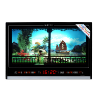 HC4568 Electric Large Led Wall Digital Calendar Clock