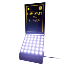 Customized E-cigarette display stand with LED Light for department store