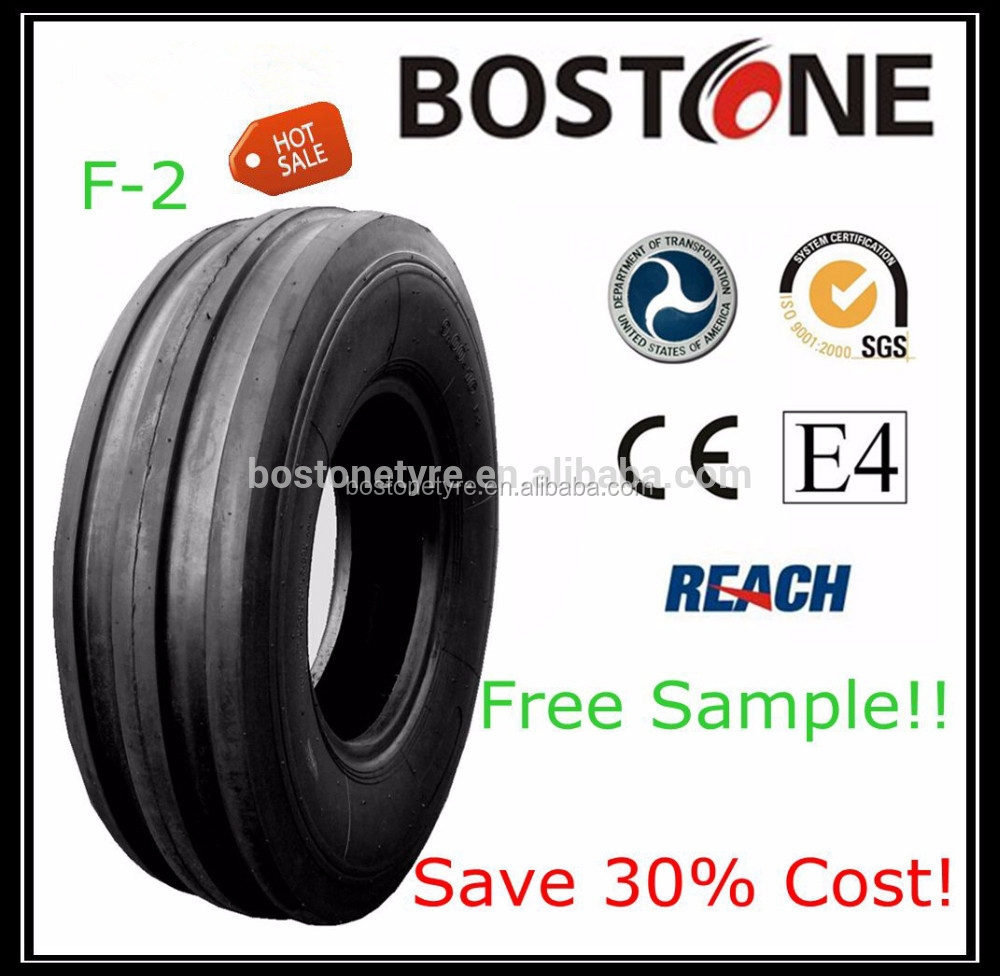 Agricultural tyre manufacturer high quality cheap front tractor tire 7.5L-15 F2