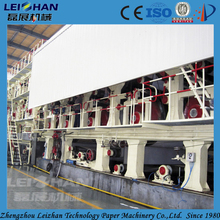 Small paper plant used corrugated carton box making machine