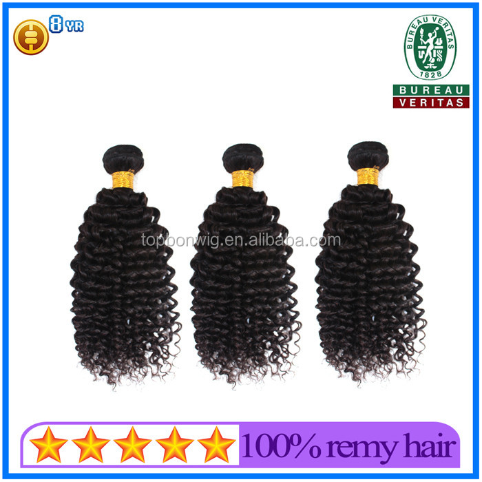 Wholesale Virgin Indian kinky curly hair weave for african americans