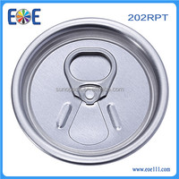 India 202RPT 52mm aluminum energy drink cover