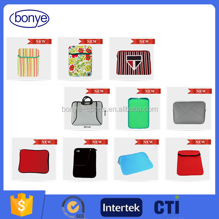 Customized High Quality Free Sample Neoprene Laptop Bag For Women