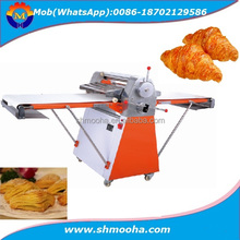 semi automatic bakery production line croissant bread dough sheeter