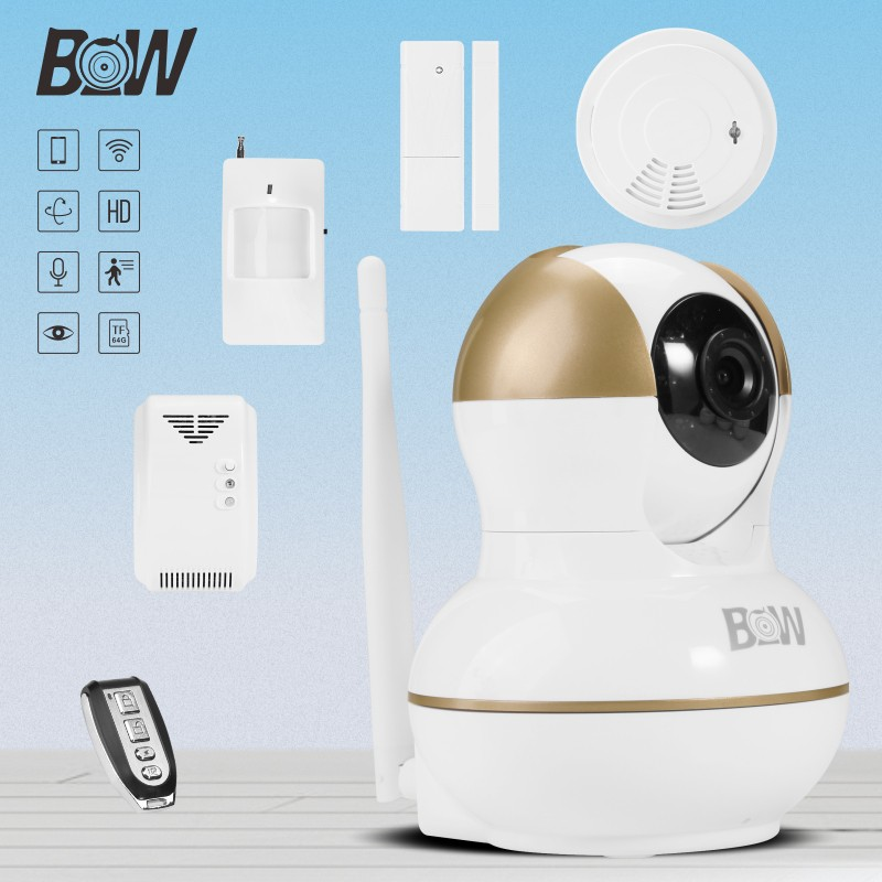 PIR type wireless motion detection camera with LED night vision