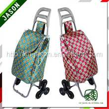 strong shopping trolley bag colorful hand go carts with wheels
