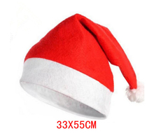Factory direct wholesale Non-woven material Christmas cap