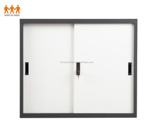 Sliding door steel godrej cupboard steel fiing cabinet