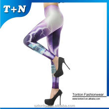 Wholesale fashion and Sexy Printed Fitness Gym Leggings Women's Yoga Pants