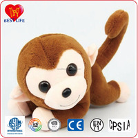 2016 promotion gift cute plush cartoon toy monkey (PTAL0816222)