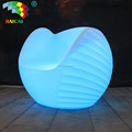 Colorful Modern Plastic Item Bar LED Furniture Sectional Sofas Lighting