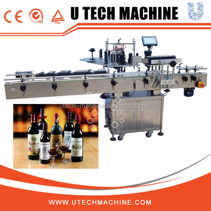 PLC Control Automatic Adhesive Labeling Machine