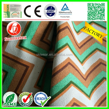 new design wicking antibacterial wax cotton canvas factory