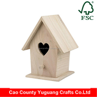 pet bird house wooden bird house