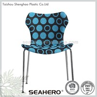 China Manufacture Professional Chrome Legs Restaurant Chair