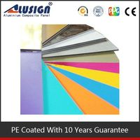 Alusign many colours can be choosed and produced function pe/ pvdf acp