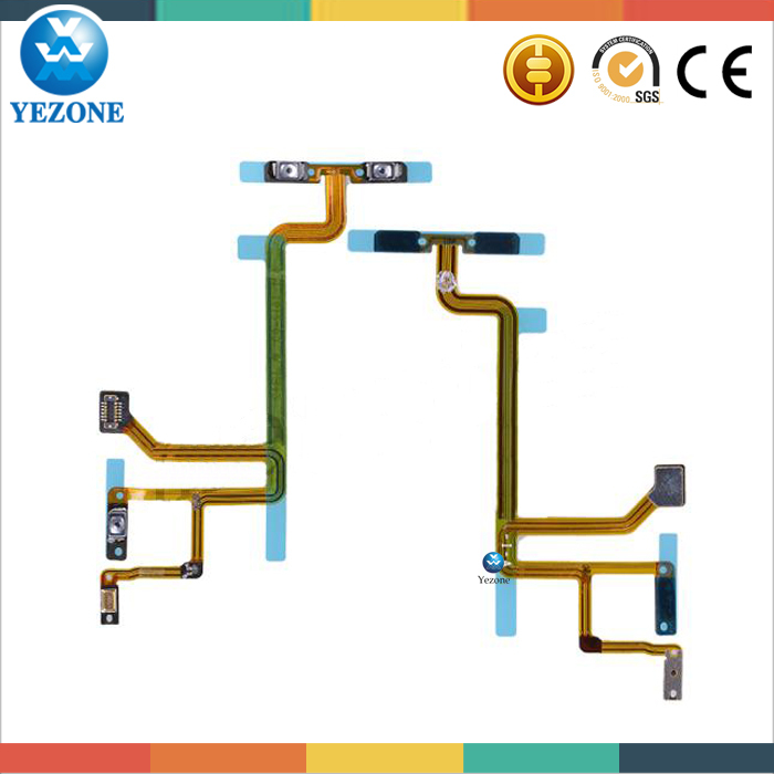 Original Power Switch Flex Cable For Ipod nano Touch 6th Gen Spare Parts