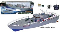 "19.5"" Highly Detailed Model Radio Control NT-2877 Warship Boat"
