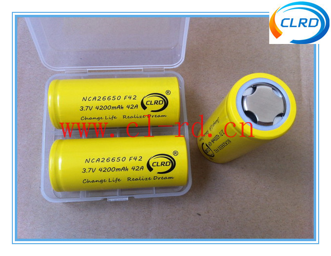 26650 battery 50 amp wholesale 4200mah high capacity long last