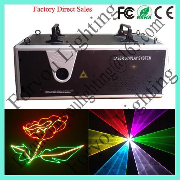 Durable hotsell 10w rgb full color animation laser light