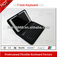 silicone bluetooth keyboard for samsung galaxy note 10.1