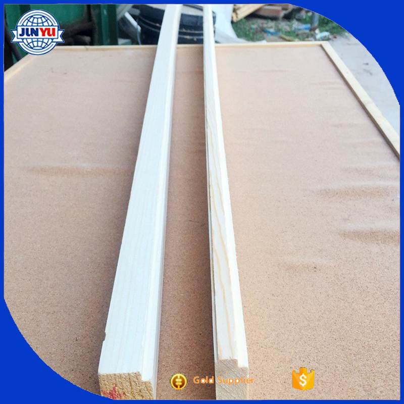 Solid wood batten for bed and solid wood boards